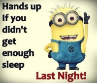 Minions sleep