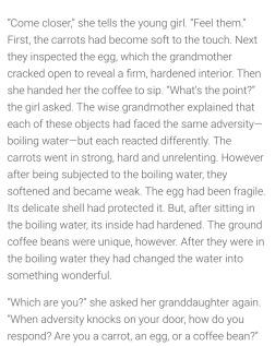 Thoughtful story