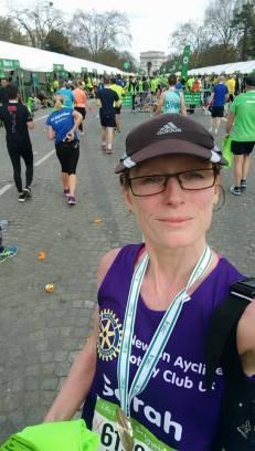 Sarah Paris medal